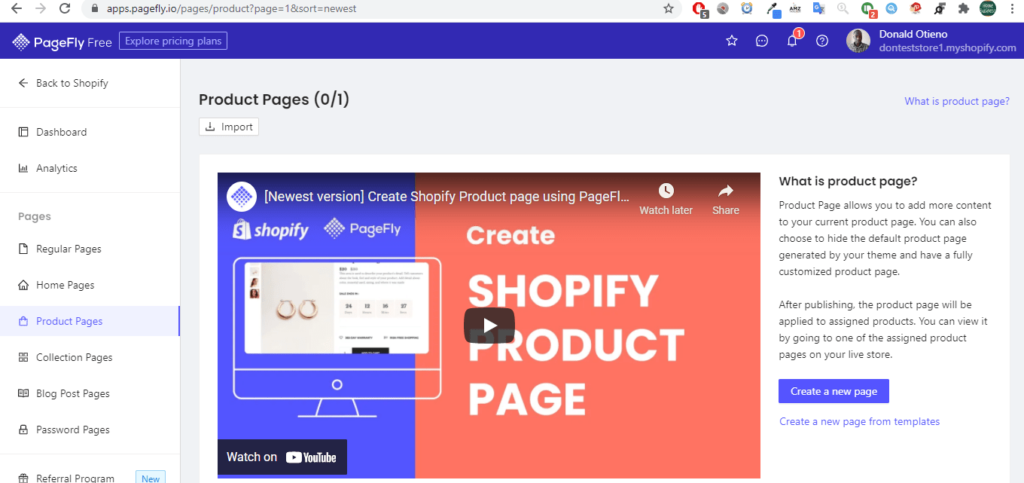 PageFly review - Advanced Page Builder