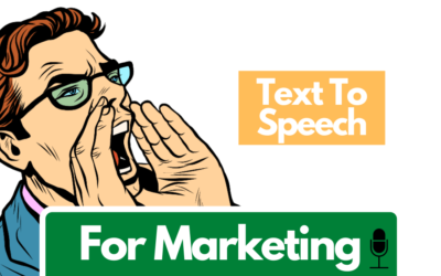 4 Ways To Use Text to Speech in Your Marketing: Voice Messages, Promoting on Social Media